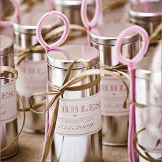 såpbubblor bröllop tips ide inspiration diy pyssel bubblor