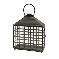 Outside conversations can go late into the night with this lantern!
