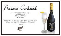 #Prosecco Cocktail!