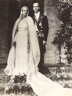 Archduke Anton of Austria and Princess Ileana of Romania.