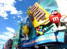 M&M's World | 23 Awesome Things To Do With Your Kids In Las Vegas