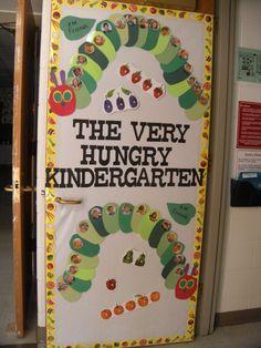 Ideas spring classroom door decorations ideas hungry caterpillar for 2019 Preschool Classroom, Classroom Themes, Preschool Crafts, Kindergarten Door, Preschool Door Decorations, Butterfly Classroom Theme, Bug Crafts, Hungry Caterpillar Classroom, Very Hungry Caterpillar