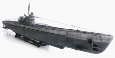Revell's 1/72 scale U-Boot Typ IX C (505) Late.
