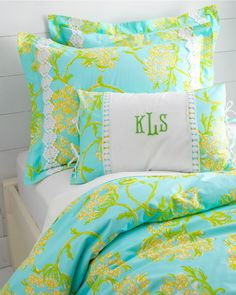 @Lilly Pulitzer Sister Florals Comforter Cover Collection