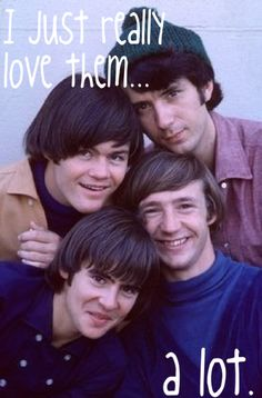 Yep, pretty much - The Monkees - Davy Jones, Peter Tork, Micky Dolenz, Mike Nesmith