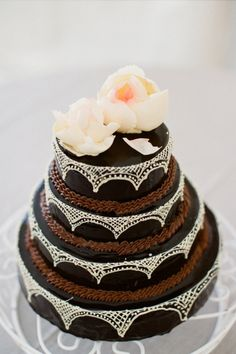 Chocolate Wedding Cakes Bournemouth