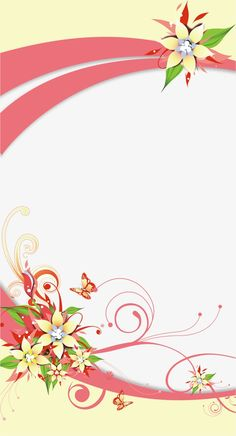 Exquisite flowers border PNG and Vector Frame Border Design, Boarder Designs, Page Borders Design, Photo Frame Design, Flower Background Wallpaper, Flower Phone Wallpaper, Flower Backgrounds, Certificate Background, Invitation Background