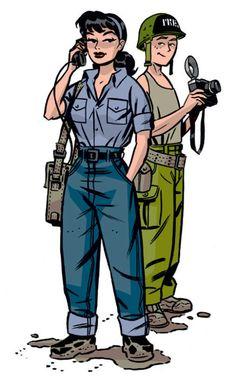 Lois Lane and Jimmy Olsen by Darwyn Cooke