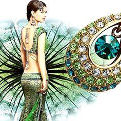 Halskette mit Swarovski® Elements 18K gold-plattiert - Jetzt reduziert bei Lesara