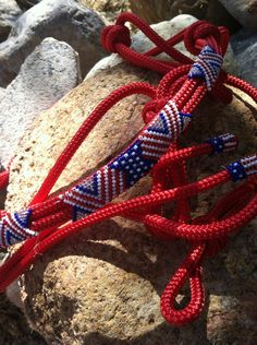 IN STOCK Beaded Rope Halter Horse Tack by HorsetailsBeadwork