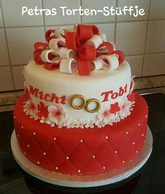 Die 26 Besten Bilder Von Hochzeitstorte Rot Weiss Beautiful Cakes