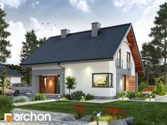 If the quiet suburbs are your dream location, then this prefab house could be your dream home. Affordable Prefab Homes, Modern Prefab Homes, Prefabricated Houses, Building Design, Building A House, Bungalow Extensions, Minimal House Design, Bungalow Renovation, Bungalow House Design