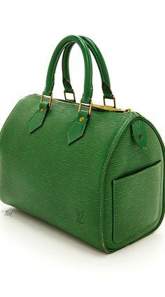 Louis Vuitton Speedy 25 Green Epi Leather City Handbag ($1680) #hot