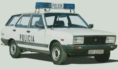 Seat 131 Supermirafiori Cuerpo Policía Nacional (España)