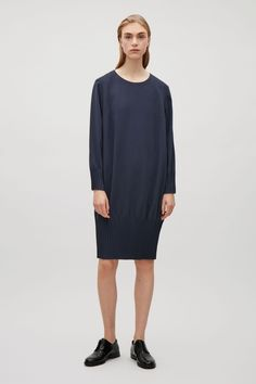 COS | Dress with pleated hems