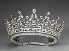 The Girls of Great Britain Tiara (1893). R and S Garrard © The Royal Collection (c) 2011, Her Majesty Queen Elizabeth II