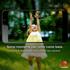 Catch life's fleeting moments, like never before, with #Huawei Honor 6's 13 MP rear camera!