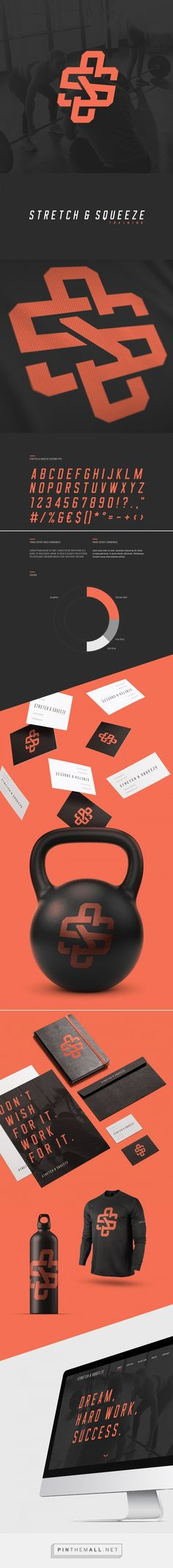 Stretch and Squeeze Training by Miika Kumpulainen on Behance | Fivestar Branding – Design and Branding Agency & Inspiration Gallery