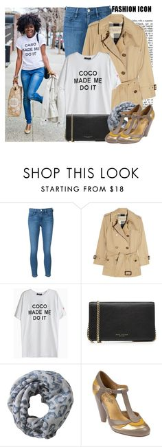 """""""...made me do it"""" by prettyorchid22 ❤ liked on Polyvore featuring Frame Denim, Burberry, Marc Jacobs, Alva-Norge and Seychelles"""