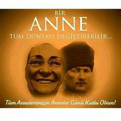 """""""Türk kabiliyet ve kudretinin tarihteki başarıları meydana çıktıkça, büsbütün Türk çocukları kendileri için lazım gelen hamle kaynağını o tarihte bulabileceklerdir. Bu tarihten Türk çocukları bağımsızlık fikrîni kazanacaklar, o büyük başarıları düşünecekler, harikalar yaratan adamları öğrenecekler, kendilerinin aynı kandan olduklarını düşünecekler ve bu kabiliyetle kimseye boyun eğmeyecekler. Eğer bir millet büyükse kendisini tanımakla daha büyük olur."""" Atatürk"""