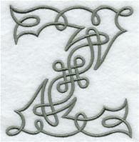 Machine Embroidery Designs at Embroidery Library! - A Celtic Knotwork Alphabet Design Pack (5 Inch Height)                                                                                                                                                                                 More