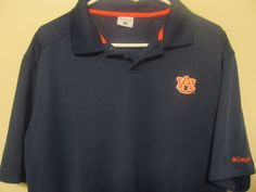 Auburn Tigers Sideline Polo shirt - Columbia Adult Large #Columbia #AuburnTigers