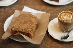 """Burst of Energy"" Coffee Bread loaf) – UpRising Gourmet Raw Food Recipes, Cake Recipes, Coffee Bread, Air Fried Food, Pause Café, Dieta Paleo, Tasty, Yummy Food, Food Cakes"