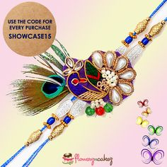 This rakhi make every purchase with great discount. Use Promo code to avail great discount.