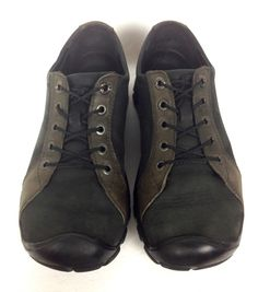 Keen Shoes Mens Black Leather Athletic Oxfords 9.5 #Keen #AthleticSneakers