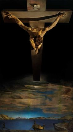 Salvador Dali Christ of saint john of the cross painting is shipped worldwide,including stretched canvas and framed art.This Salvador Dali Christ of saint john of the cross painting is available at custom size. Salvador Dali Gemälde, Salvador Dali Paintings, Paintings Of Christ, Cross Paintings, Dark Paintings, Catholic Art, Religious Art, The Cross Of Christ, Christian Art