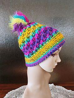 Ravelry: lwarteman's Passion Fruit Spiral Hat
