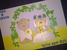 Wedding Commission - Go-Kreate Boo bear Die