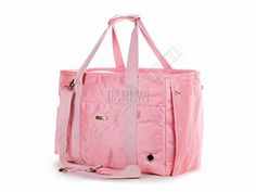 Petsmartpm 140PKD Pink Nylon Dog Carrier Purse Pet Tote Bag Puppy Handbag Cat Cage Doggy Pouch * You can find out more details at the link of the image.