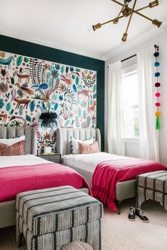 House Of Nomad Designs A Bold Bohemian Bedroom Rue Interior Baby Bedroom, Bedroom Sets, Girls Bedroom, Bedding Sets, Bedroom Wall Colors, Bedroom Decor, Bedroom Hacks, Bedroom Rustic, Decor Room