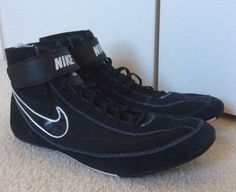 Nike Speedsweep 7 Wrestling Shoes Size 14 Mens Black Excellent ...
