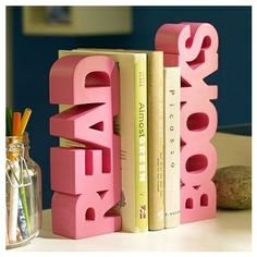 Bookends (Preferably White Or Black)