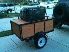 camping utility trailer canada - Google Search