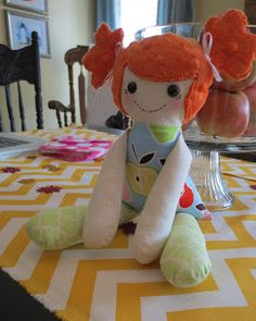 Staying Sane While Staying Home!: Finding the perfect (free) Rag Doll Pattern.