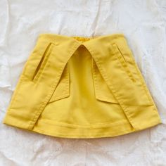 paneled miniskirt by trommpo