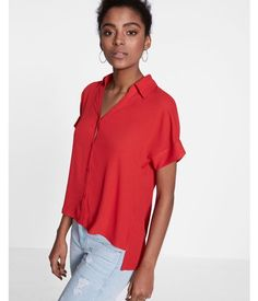 bc56326764 Dolman Portofino Shirt by Express.Available Sizes No Size.