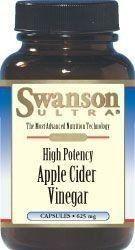 SWANSON Apple Cider Vinegar 625mg x 180 capsules