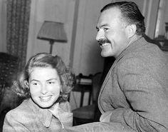 Ingrid Bergman meets Hemingway.