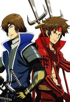 Sanada Yukimura, Date Masamune, Sengoku Basara