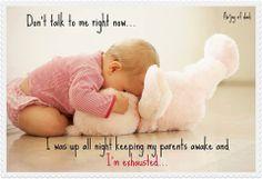 Parenting is kinda like that.Funny baby picture www. Funny Babies, Cute Babies, Baby Kids, Dad Baby, Toddler Sleep, Baby Sleep, Kids Sleep, American Proverbs, My Bebe