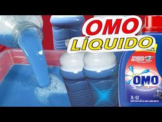 SABÃO OMO LÍQUIDO CLASSIC EM APENAS 2 MINUTOS COM 2 INGREDIENTES - YouTube Watering Can, Water Bottle, Soap, Canning, How To Make, Products, Homemade Laundry Softener, Fabric Softener, Household Cleaning Products