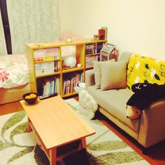 itsunaさんの、1K,一人暮らし,ソファ,収納,大学生,Overview,のお部屋写真