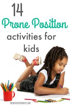 The Inspired Treehouse - These prone position play activities are great for building core strength and endurance to support fine motor development. 10 Calming Techniques And Transition Strategies For Kids Occupational Therapy Activities, Pediatric Occupational Therapy, Pediatric Ot, Child Development Activities, Behavioral Therapy, Fine Motor Activities For Kids, Sensory Activities, Infant Activities, Sensory Play