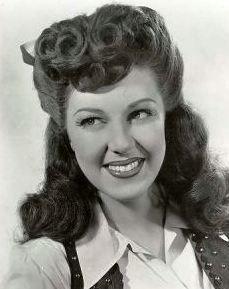 I want that hair. Fay McKenzie 1940s