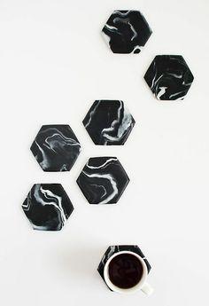 Dessous-de-palt design en argile