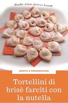 Tortellini, Mini Desserts, Just Desserts, Coca Cola, Mediterranean Recipes, Finger Foods, Italian Recipes, Baked Goods, Cookie Recipes
